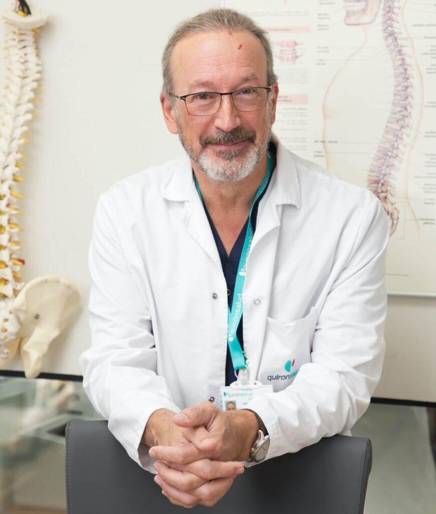 Dr. Alfonso Vidal, Unidad del Dolor