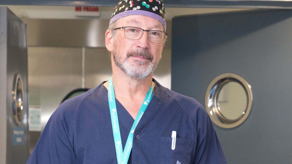 Dr. Alfonso Vidal, Quirónsalud, Unidad del Dolor