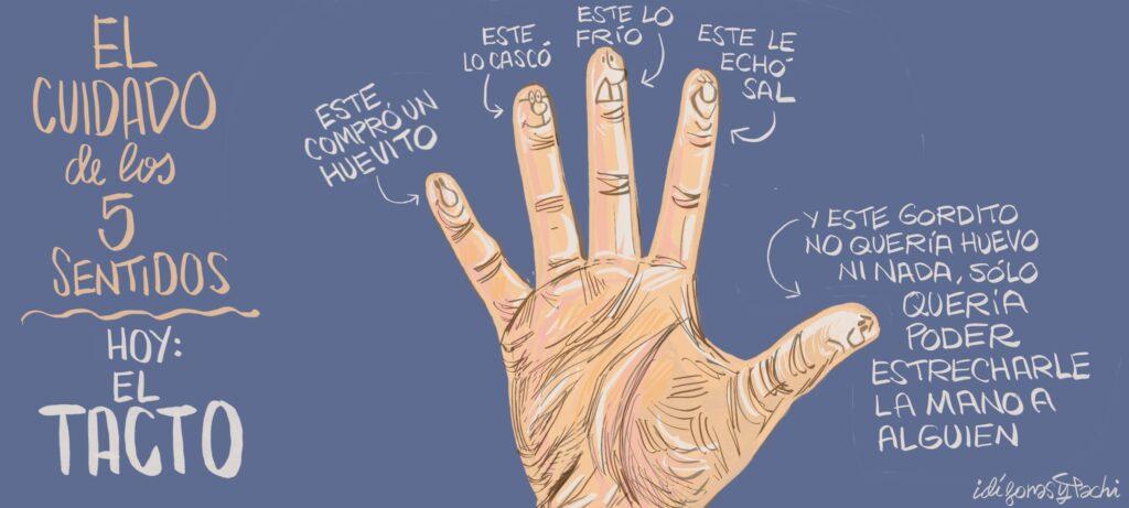El tacto, serie 'el cuidado de los cinco sentidos' - Idígoras y Pachi - pereznoesraton.com